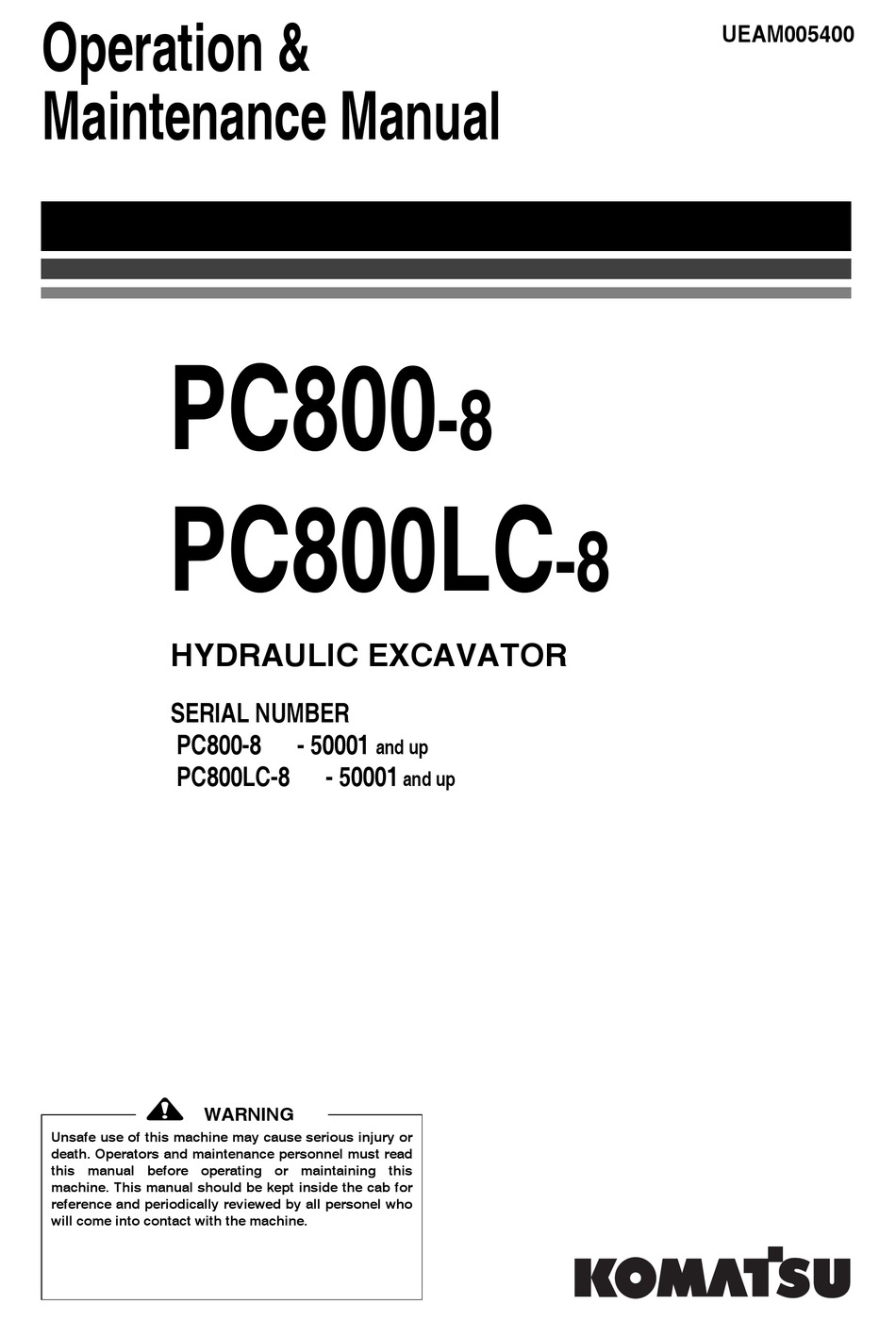 Komatsu Pc600 8 Shop Manual Pdf / Construction Service