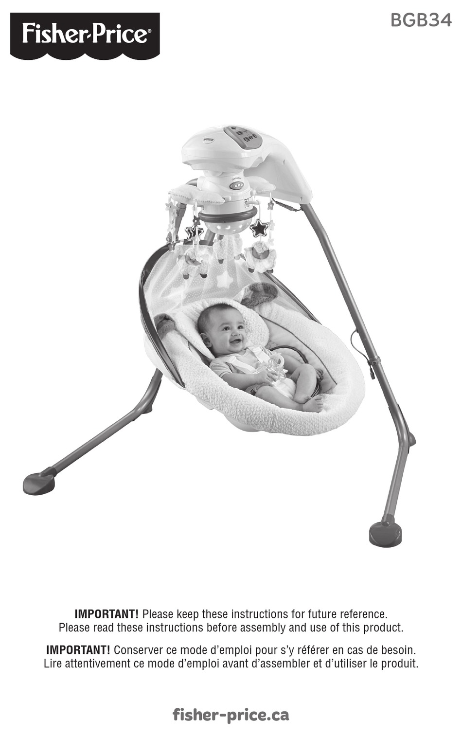 How To Remove Legs From Fisher Price Baby Dome : remove, fisher, price, FISHER-PRICE, BGB34, MANUAL, Download, ManualsLib