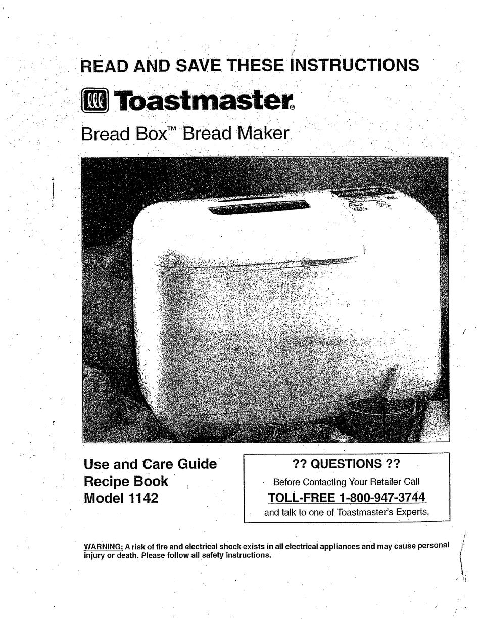 Recipes For Toastmaster Bread Box 1154 : 2 / 1 lb lemonade
