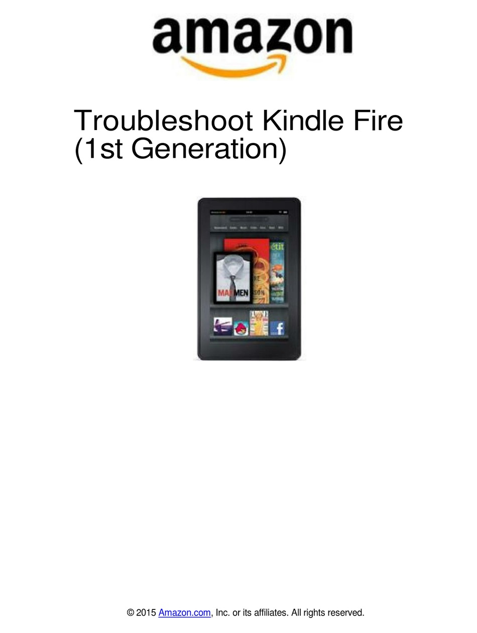 AMAZON KINDLE FIRE TROUBLESHOOTING MANUAL Pdf Download