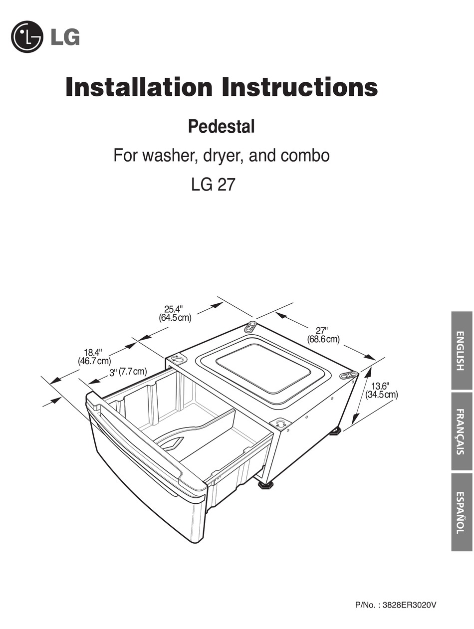 LG THEV INSTALLATION INSTRUCTIONS MANUAL Pdf Download