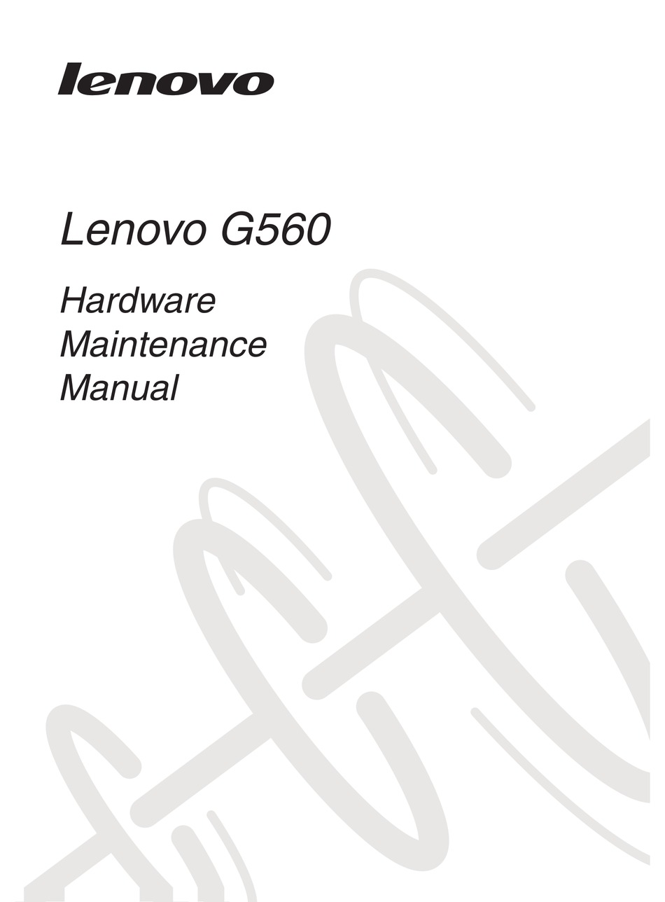 LENOVO 06793JU HARDWARE MAINTENANCE MANUAL Pdf Download
