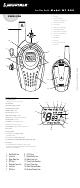 COBRA MICROTALK MT 800 USER MANUAL Pdf Download.