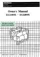 HONDA EG2200X OWNER'S MANUAL Pdf Download.