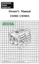 HONDA EM3500SX OWNER'S MANUAL Pdf Download.
