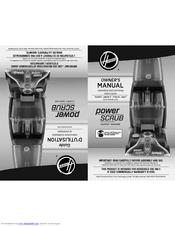 Hoover Power Scrub Manual : hoover, power, scrub, manual, Hoover, Power, Scrub, FH50150, Manuals, ManualsLib
