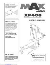 Weider MAX XP400 Manuals