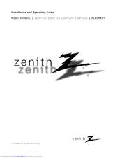 Zenith Z50PV220 Manuals