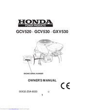Honda GXV530 Manuals