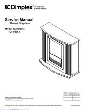 Dimplex ELECTRALOG CFP3913 Manuals