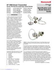 Honeywell ST 3000 Manuals