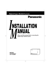 Panasonic KX-T7433 Manuals