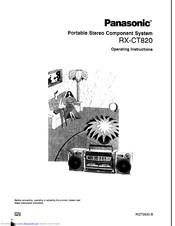 Panasonic RX-CT820 Manuals
