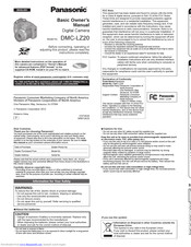 Panasonic Lumix DMC-LZ20 Manuals