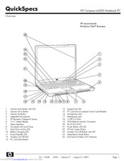 Hp Compaq NC6320 Manuals