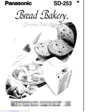 Panasonic Bread Bakery SD-253 Manuals