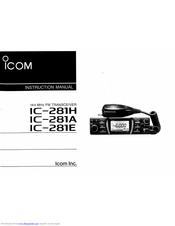 Icom IC-281H Manuals