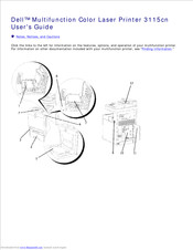 Dell 3115CN Manuals
