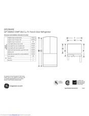 Ge GFE29HMEES Manuals