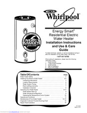 Whirlpool Energy Smart Residential Electric Water Heater