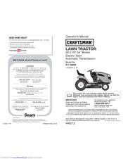 Craftsman 917.20391 Manuals