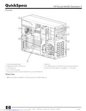 Hp ProLiant ML350 G3 Manuals