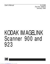 Kodak IMAGELINK 900 Manuals