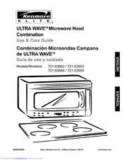 Kenmore Ultra wave Microwave hood combination 721.63662