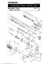 Hitachi DH 24PC Manuals