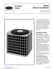 Carrier 38CKC Manuals