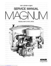 Kohler Magnum MV18 Manuals