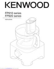 Kenwood FP920 series Manuals