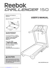 Reebok Challenger 150 Treadmill Manuals