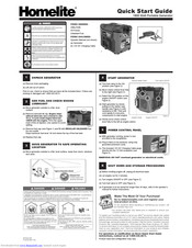 Homelite HG1800 series Manuals