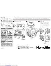 Homelite HGCA1400 Series Manuals