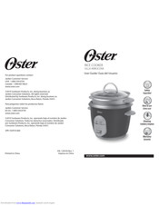 Oster 6-Cup Rice Cooker Manuals