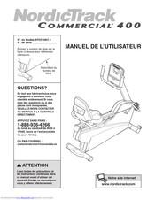 Nordictrack Commercial 400 Recumbent Bike : nordictrack, commercial, recumbent, Nordictrack, Commercial, Manuals, ManualsLib