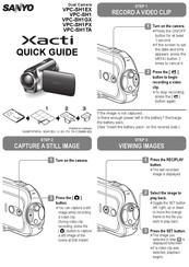 Sanyo Xacti VPC-SH1 Manuals
