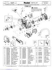 Poulan Pro P3314WSA Manuals