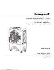Honeywell CL40PM Manuals
