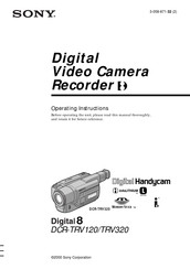 Sony Handycam DCR-TRV320 Manuals