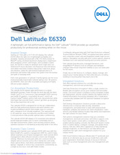 Dell Latitude E6330 Manuals