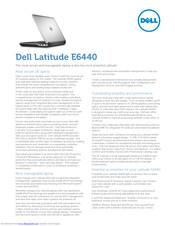 Dell Latitude E6440 Manuals