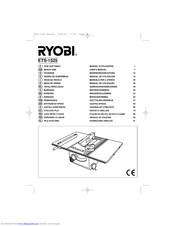 Ryobi ETS-1525 Manuals