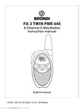 Brondi Fx11 User Manual