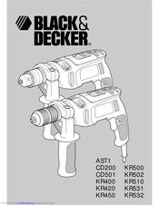 Black & Decker KR400 Manuals
