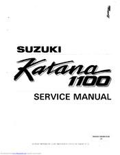 Suzuki Katana 1100 Manuals