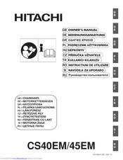 Hitachi CS45EM Manuals