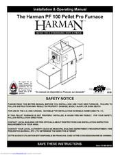 Harman PF100 Manuals