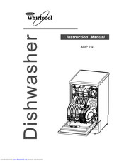 Whirlpool ADP 750 Manuals